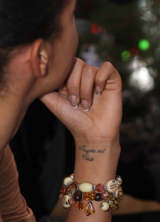 Nowy Tatuaż Oli Szwed Foto