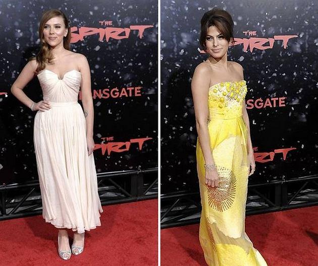Scarlett Johansson, Eva Mendes