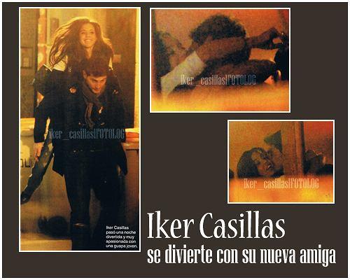 Iker Casillas z dziewczyną