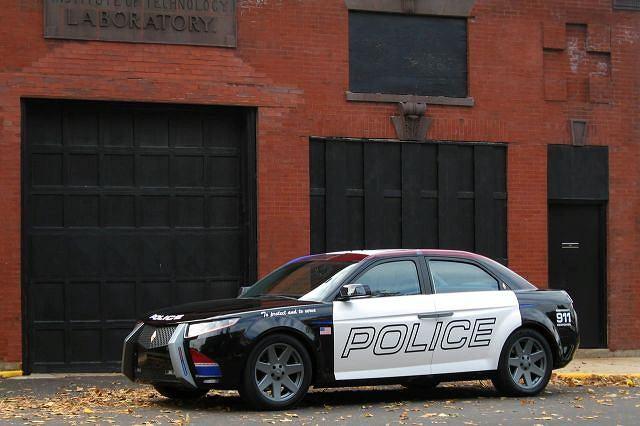 Carbon Motors E7 to radiowóz z prawdziwego zdarzenia - zaprojektowany od podstaw jako narzędzie w rękach policji