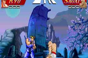 Street Fighter II w wersji flash!