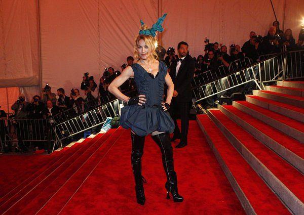 Madonna na gali The Costume Institute Gala w Metropolitan Museum of Art w Nowym Jorku