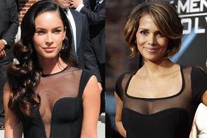 Megan Fox i Halle Berry w bardzo podobnych sukienkach. Która wygląda lepiej? Która jest seksowniejsza?