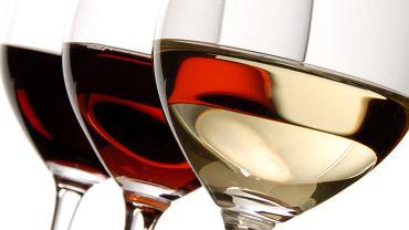 białe wino