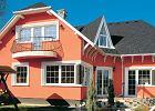 Malowanie elewacji - ściany i dach w nowych barwach
