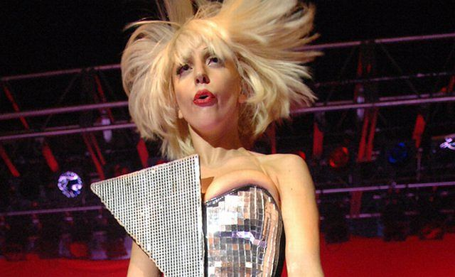 Lady GaGa na koncercie