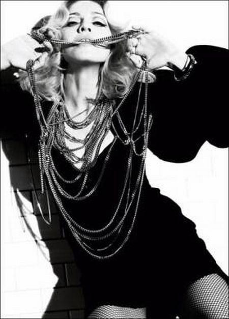 Madonna DIY Naszyjnik z łańcuchów