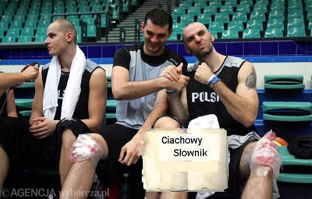Robert Witka i Marcin Gortat