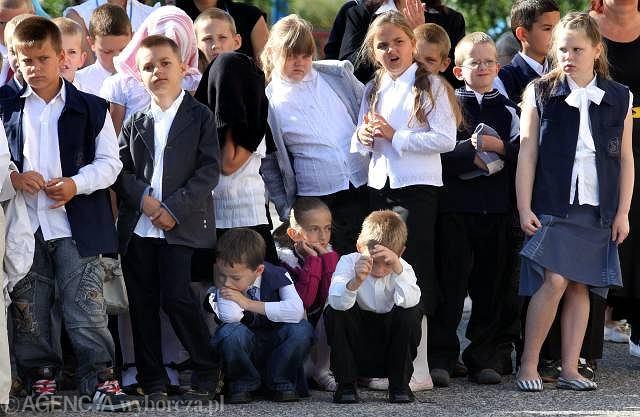 1 września, Bydgoszcz. Rozpoczęcie roku szkolnego w Szkole Podstawowej nr 38.