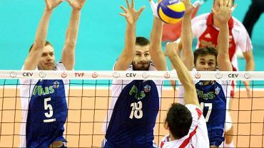 Polacy w meczu z Turcją w mistrzostwach Europy