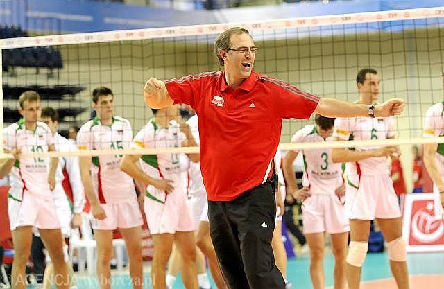 Daniel Castellani z Bułgarią