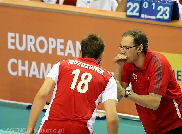 Marcin Możdżonek i Daniel Castellani