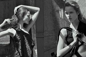Monika Jagaciak współpracowała z Hermesem, była na okładkach Teen Vogue i Vogue.