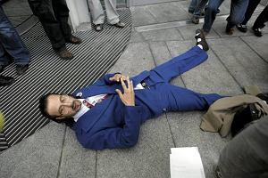 Showmen udawał nowego prezesa TVP i próbował dostać się do swojego gabinetu.