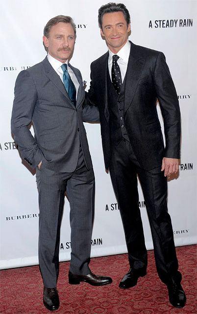 Daniel Craig czy Hugh Jackman?