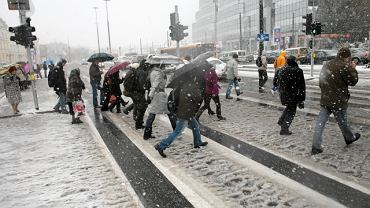 Zima na placu Bankowym