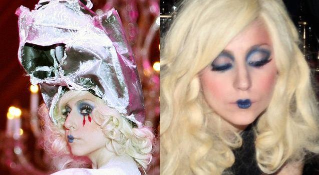 Pomysły na zaskakujące stylizacje jej się nie kończą. Tym razem na gali MOCA w Los Angeles Lady Gaga pojawiła się na scenie jako trup. Jeszcze ciekawiej wyglądała jednak podczas bankietu (zobaczcie ostatnie zdjęcia). Kto wie, może to właśnie idealne rozwiązanie dla nie najpiękniejszej wokalistki? Wystylizowana na trupa wcale nie musi wyglądać ładnie.