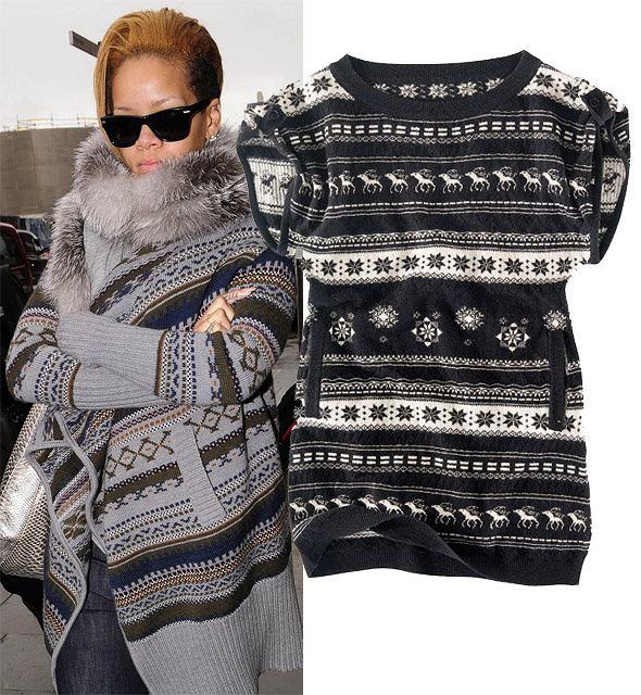 16b80ab4ce77e0 Na dwa sposoby: sweter w norweskie wzory