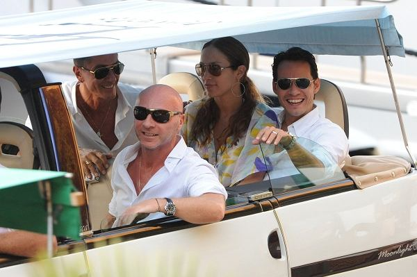 Domenico Dolce, Stefano Gabbana, Jennifer Lopez i Marc Anthony