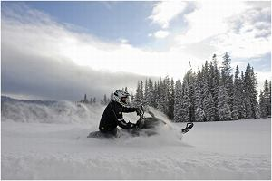 Sylwester na skuterze śnieżnym