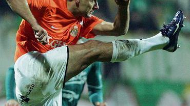 Piotr Świerczewski w 2009 roku w meczu  Zagłębia ze Śląskiem