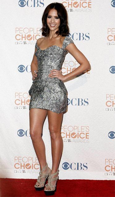 Gwiazdy na gali People's Choice Awards - Jessica Alba