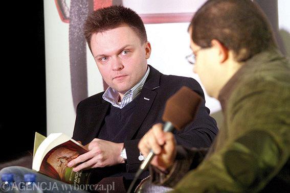 Szymon Hołownia promuje swą ostatnią książkę o zbawieniu
