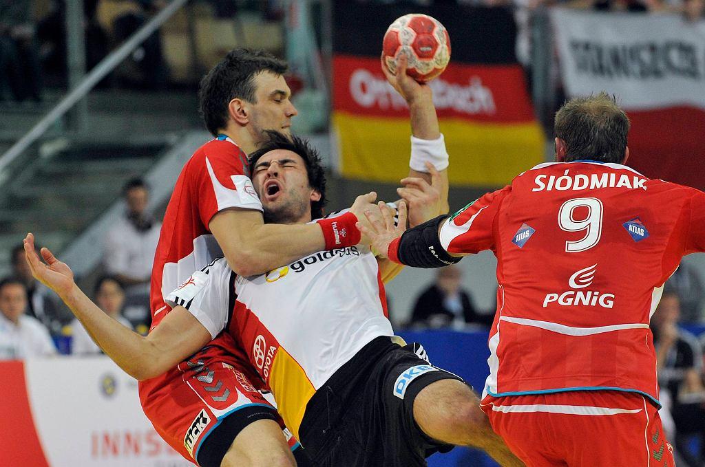 Mecz piłki ręcznej Polska-Niemcy
