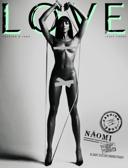 Love Magazine Naomi Campbell