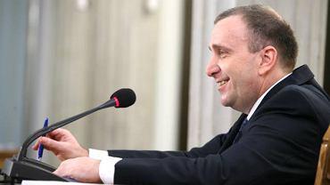 Grzegorz Schetyna przed komisją hazardową