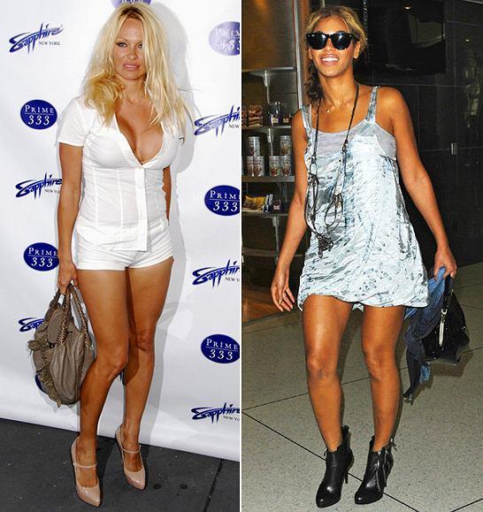 Pamela Anderson fot. East News; Beyonce fot. forum
