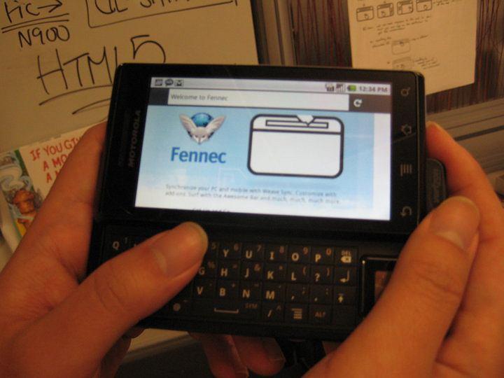 Fennec na Androidzie