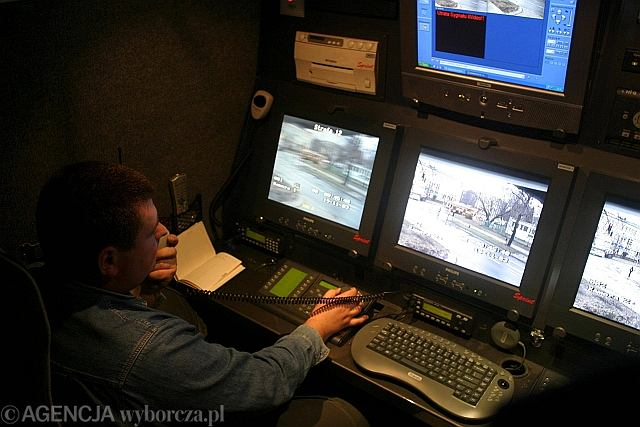 Wandala namierzył dyżurny z Miejskiego Centrum Monitoringu