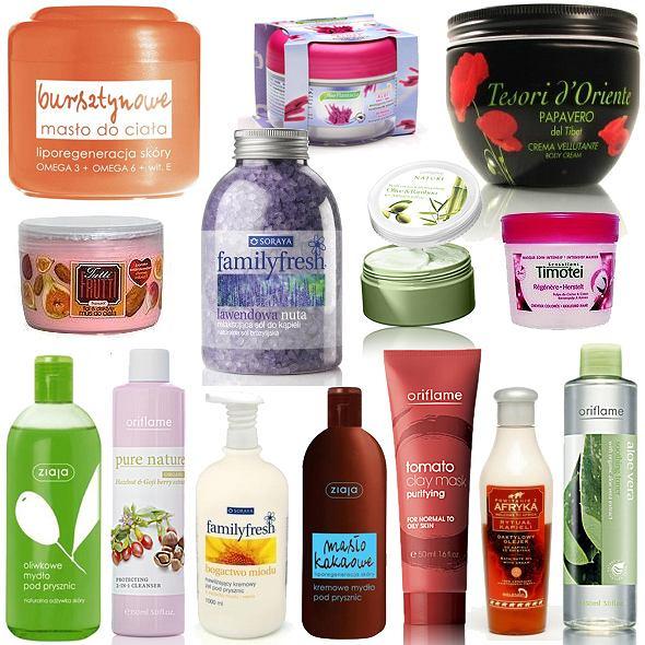 Kosmetyki do ciała inspirowane naturą