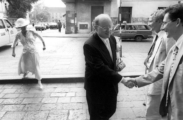 Ślub Jana Marii i Nelly Rokity, Kraków 1994 r.