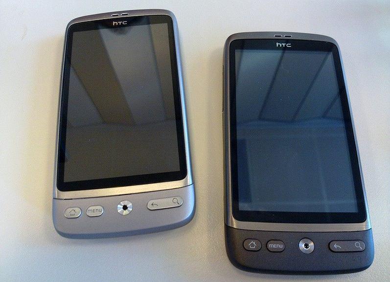 HTC Desire silver