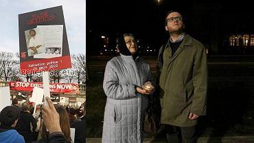 Protest w Paryżu i w Warszawie. 24.03.2010