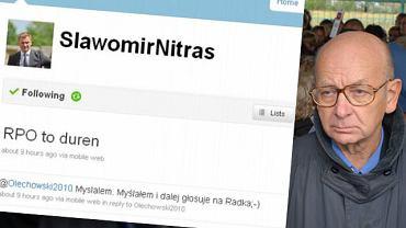 Blog Sławomir Nitrasa i Janusz Kochanowski