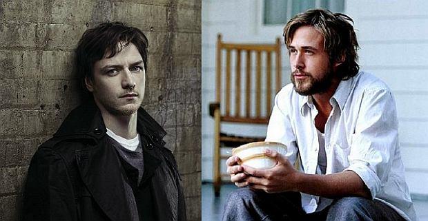 James McAvoy i Ryan Gosling