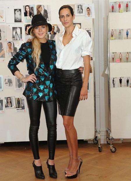Estrella Archs i Lindsay Lohan