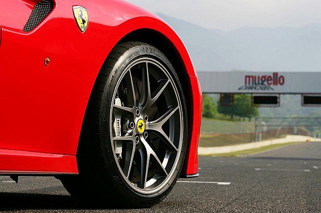 Limitowana seria opon Michelin przygotowana specjalnie dla Ferrari 599 GTO
