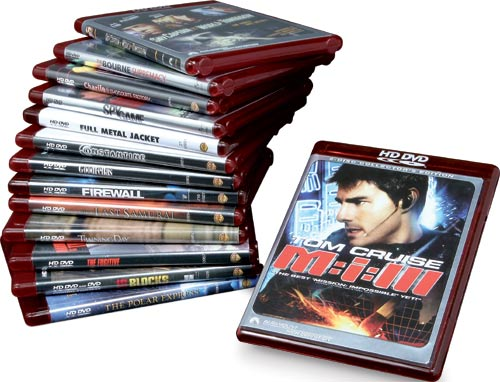 Filmy na płytach HD DVD
