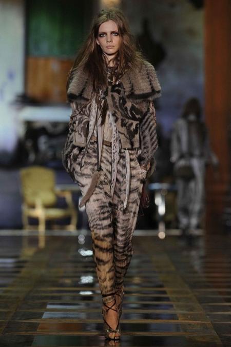Projekt: Roberto Cavalli (jesień/zima 2010/2011)