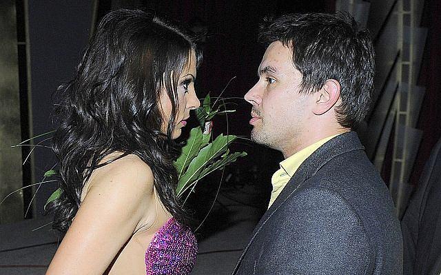Katarzyna Glinka z mężem
