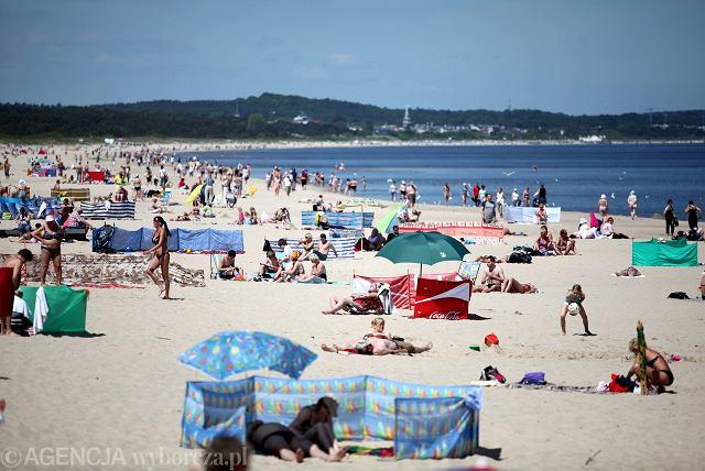 Świnoujska plaża - to nie jest zdjęcie z wczoraj, ale co nam szkodzi powspominać