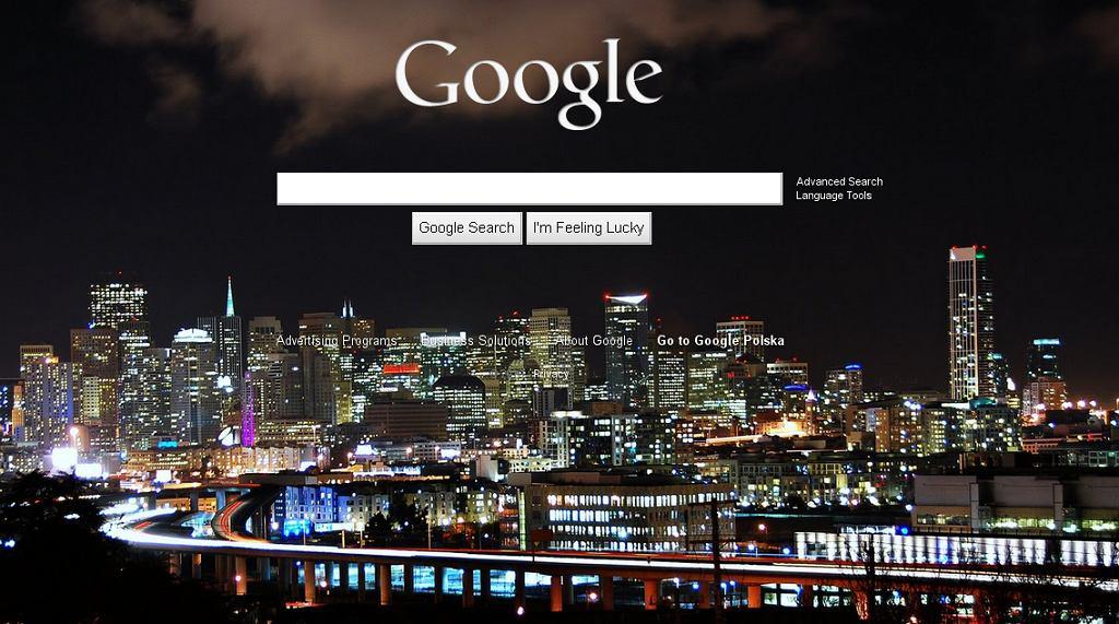 Google z opcją personalizacji tła