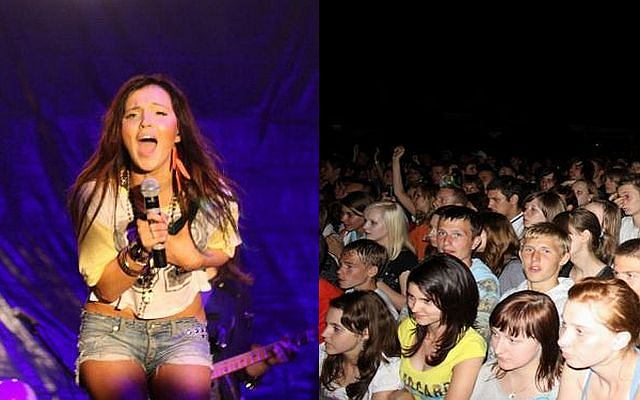Marina ma się z czego cieszyć. Dała swój pierwszy koncert w Wodzisławiu Śląskim.