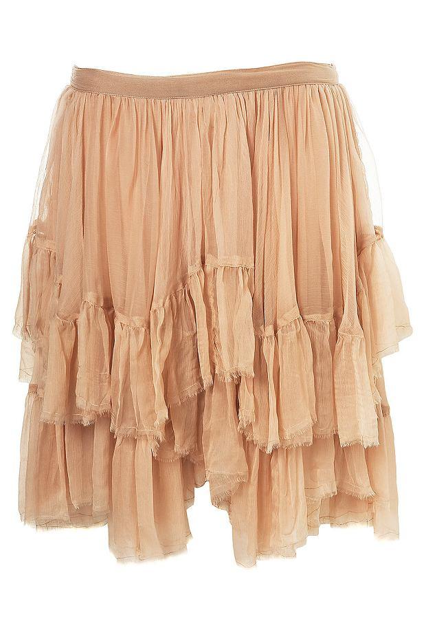 khaki plisowana midi spódnica – Neonowa Strzała