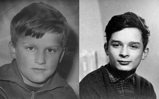 Po lewej - Bronisław Komorowski, a po prawej - Jarosław Kaczyński. Oto archiwalne zdjęcia dwóch kandydatów na prezydenta. Zdjęcia unikalne pochodzą z rodzinnych zbiorów Komorowskiego i Kaczyńskiego.