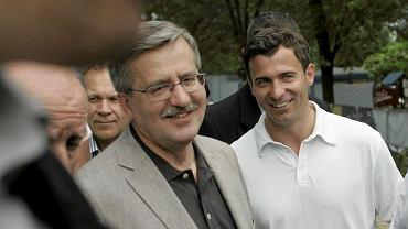 Bronisław Komorowski i Wojciech Olejniczak